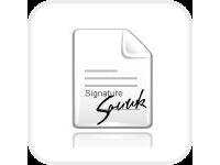 Sharxx Electronic Signature Field Produkt Sharepoint Projektraum